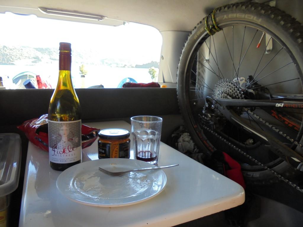 Van camping life