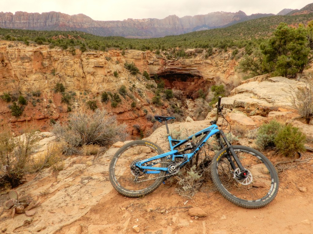 Wire mesa trail Rockville Utah