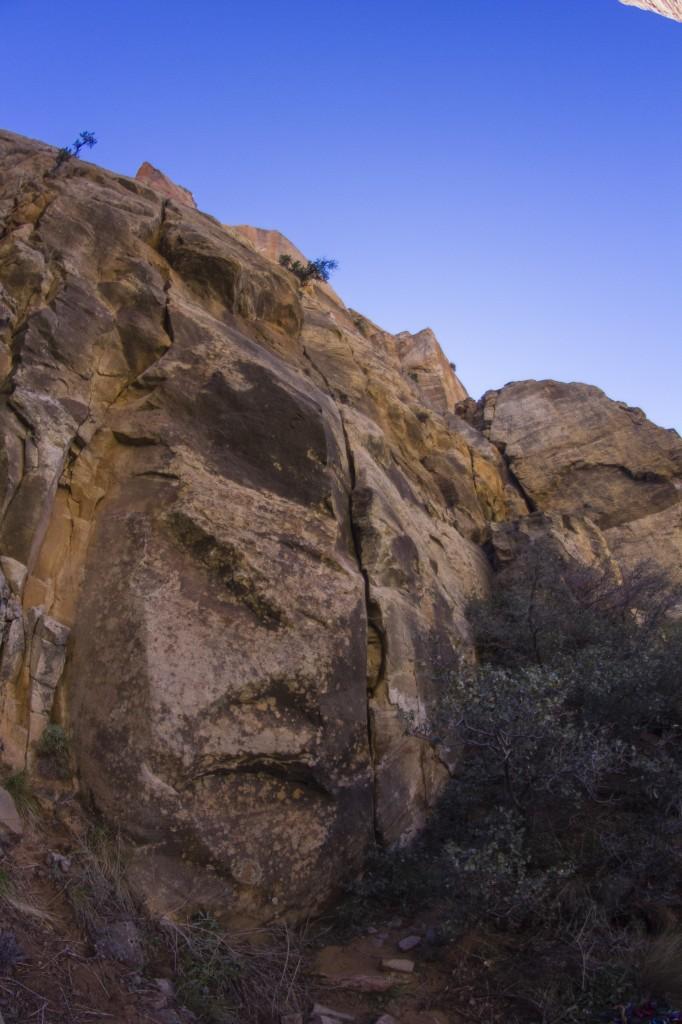 Eagle Crag Rock Climbing