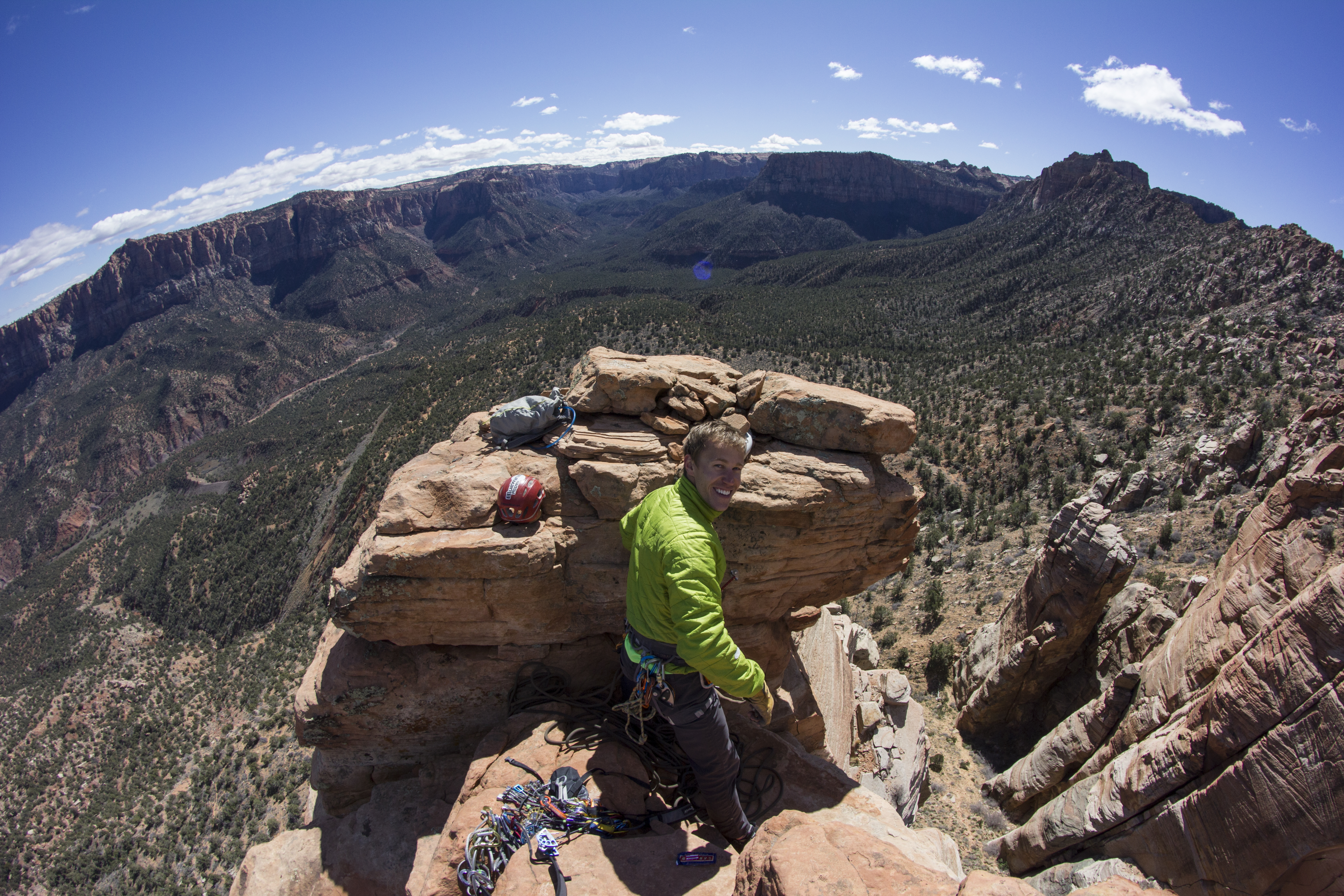 eagle crag climbing southern utah