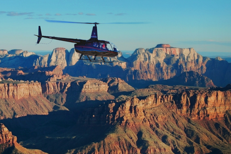 scenic flights, Zion Helicopters