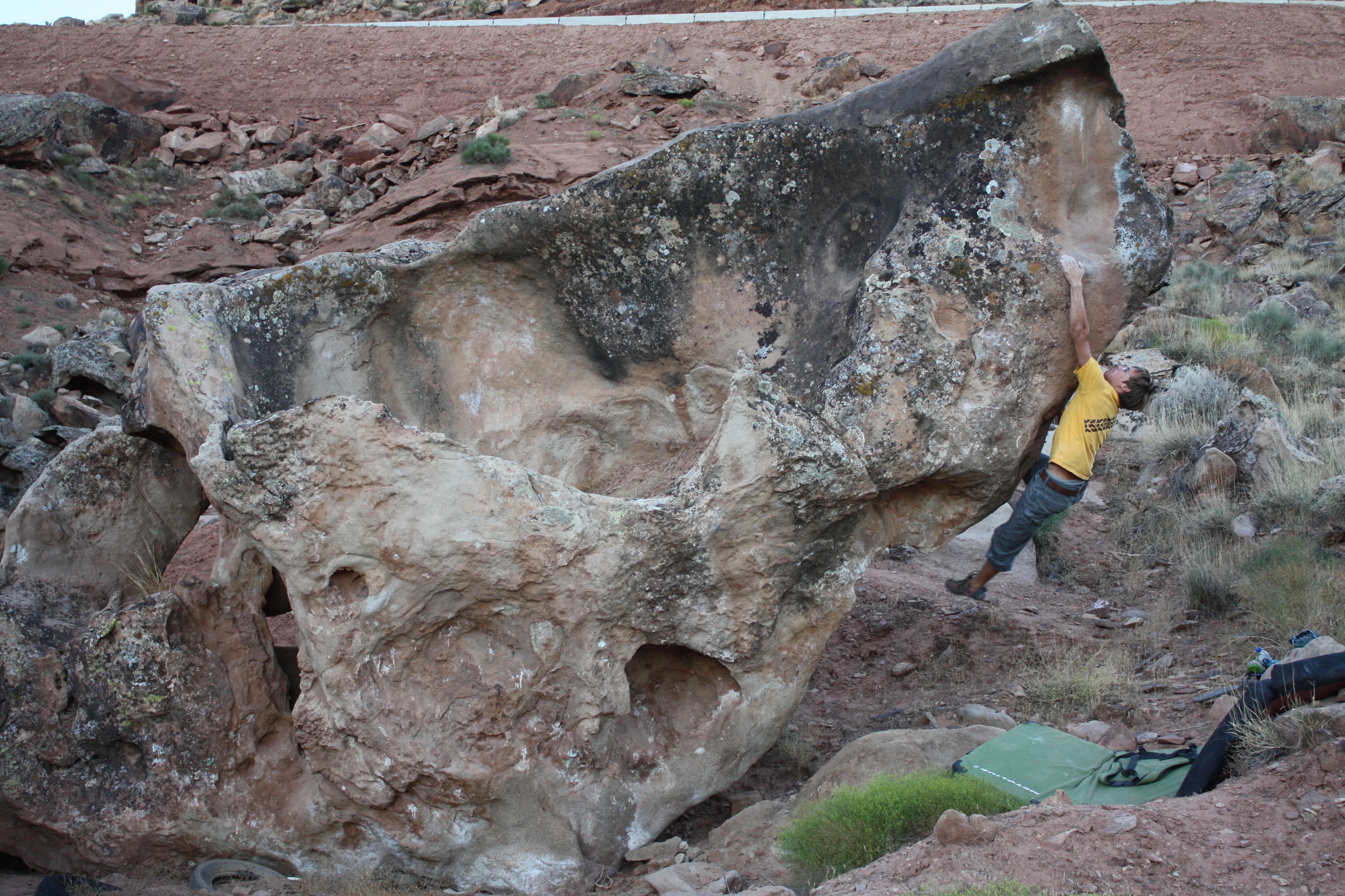 Garth Rocks Bouldering Saint George Utah