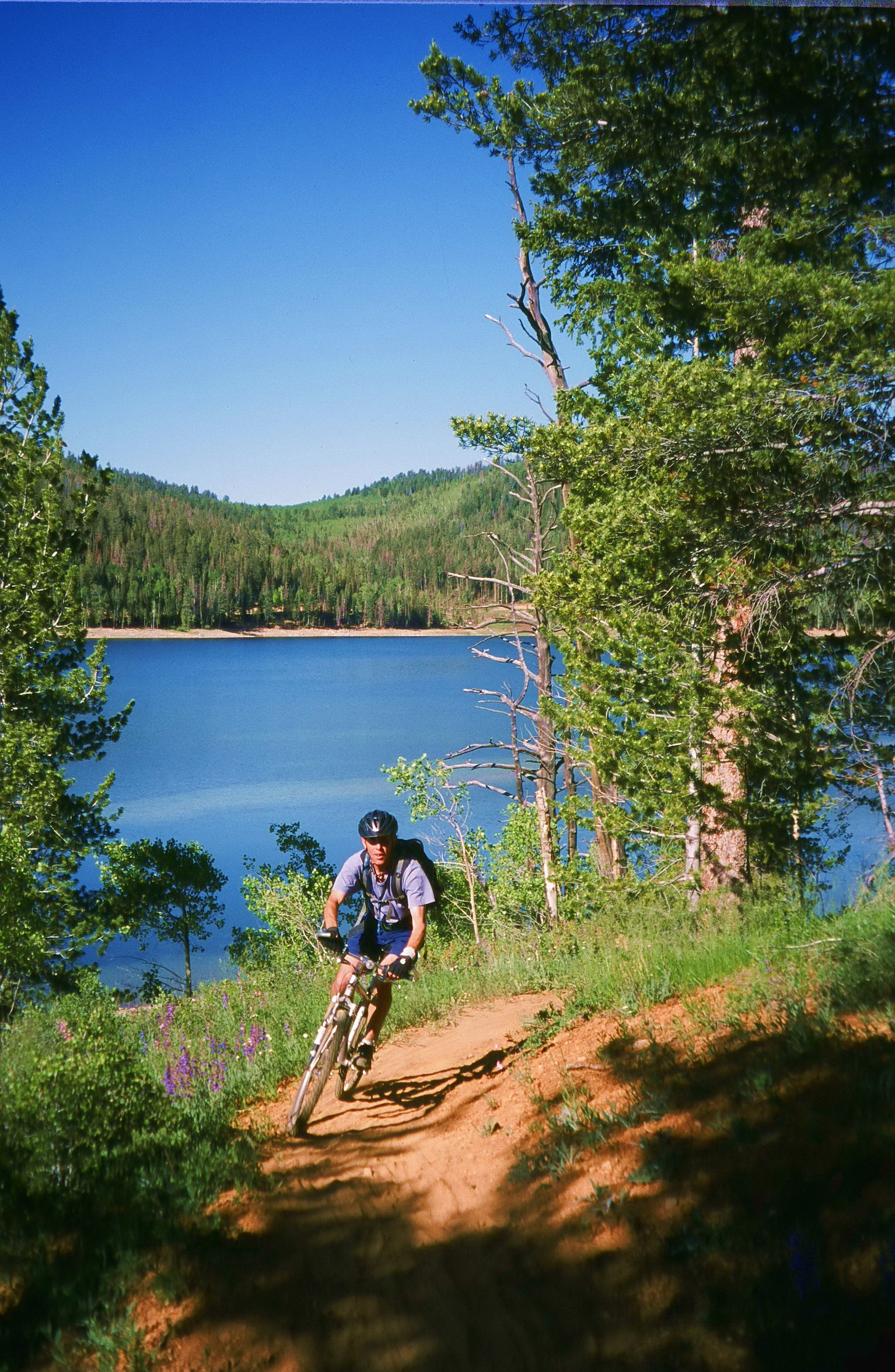 Navajo Lake Mountain Biking