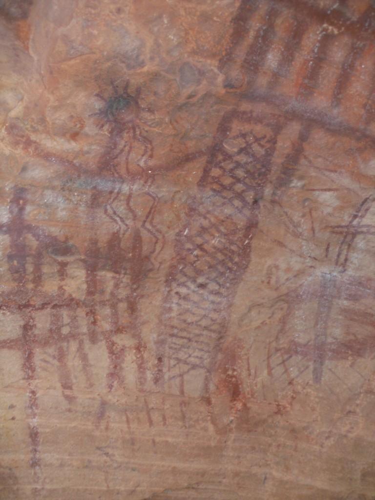 Petroglyphs and pictographs Saint George Utah