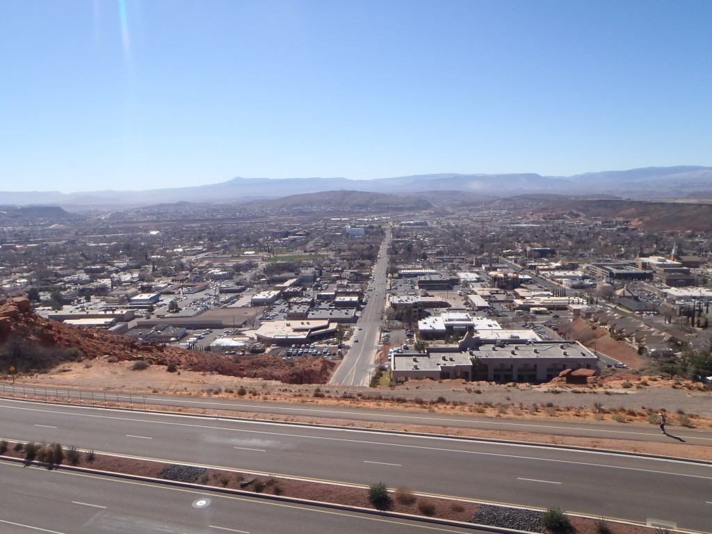 Pioneer park view
