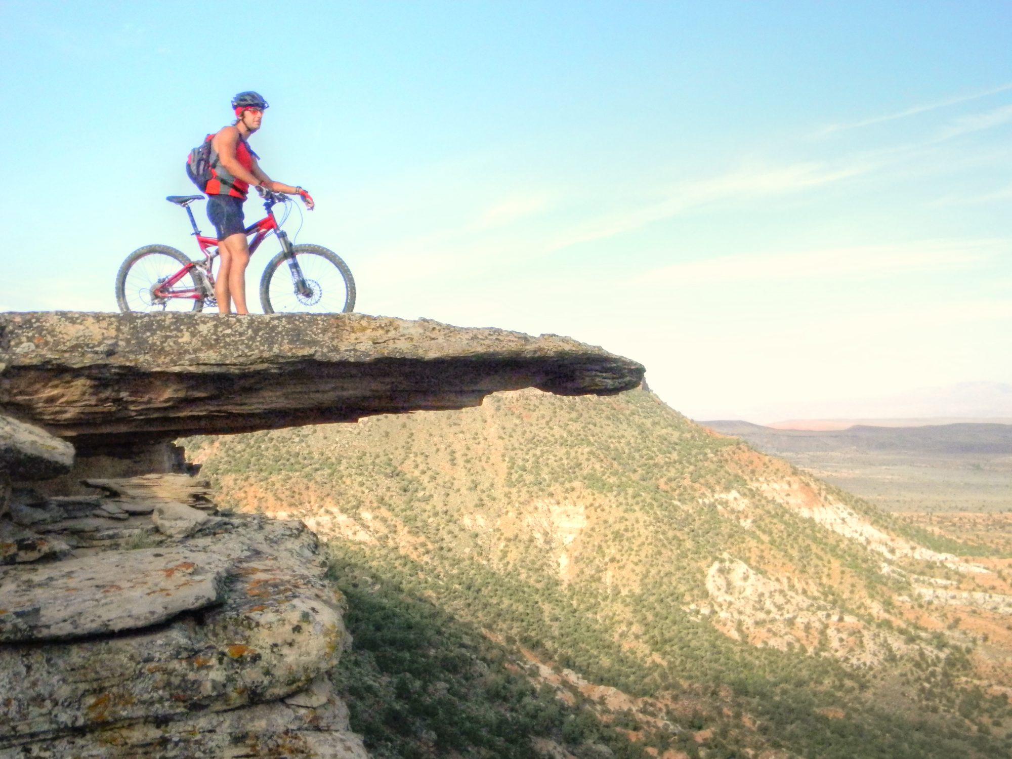 mountain biking little creek mesa