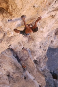 worhsiping the limestone gods 5.11b the cathedral utah