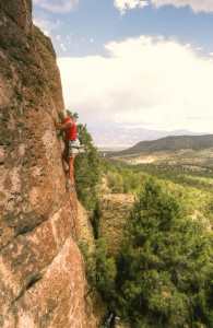 rock climbing pocket rocks cedar city utah