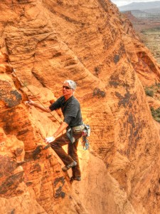 rock climbing snow canyon state park, Utah