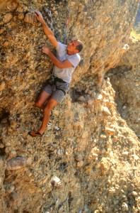 rock climbing shinobe parowan Utah